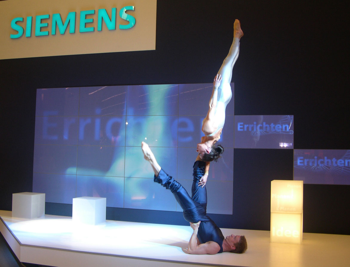 Messeshow duo equilibre